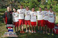 A week after Coach Joe Bill Dixon's Wife Judy passed away, the West Plains Zizzers ran in her honors and captured the 2013 Hancock 4A Varsity Boys race in dominating fashion, tying Jefferson City and Liberty for the meet record low score.