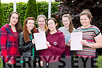 St Brigids Killarney Pres girls Amrita Dhami, Shola Koschan, Marie Daly, Kerri Sheahan, Ciara Daly and Karen Parker who were happy with their English Leaving cert paper on Wednesday
