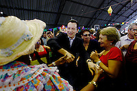 SAO PAULO, 27 DE JULHO DE 2012. CAMPANHA CELSO RUSSOMANO. O candidato a prefeitura Celso Russomano durante visita a festa julina da Associação Brasileira dos Clubes da Melhor idade na tarde desta sexta feira.: ADRIANA SPACA: BRAZIL PHOTO PRESS