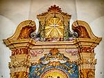 Wooden altar, Santa Maria Maggiore Church, 17th century, Ravenna, Italy