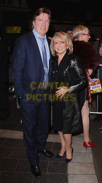 LONDON, UNITED KINGDOM - MARCH 18: Justin Mallinson and Elaine Paige attends the Press Night for 'Blythe Spirit' at the Gielgud Theatre on March 18, 2014 in London, England.<br /> CAP/MB/PP<br /> &copy;Michael Ball/PP/Capital Pictures