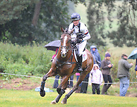 Blair Atholl, Scotland, UK. 12th September, 2015. Longines  FEI European Eventing Championships 2015, Blair Castle. Nicola Wilson (GBR) riding One Two Many during the Cross country phase © Julie Priestley