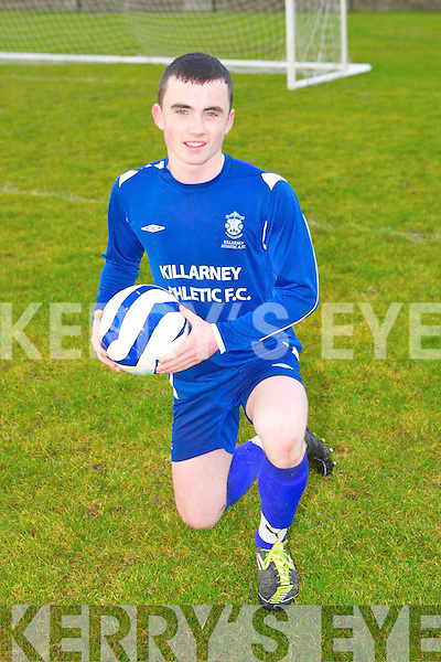 David Naughton of Killarney Athletic who has been called up for U15 Irish assessment trials.