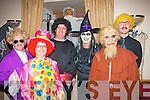 Having a spooky time at the Kerin's O'Rahilly's GAA clubhouse Halloween party last Sunday night were L-R George&Breda Dyland,Mike&mary Mangan with Joseph O'Callighan..