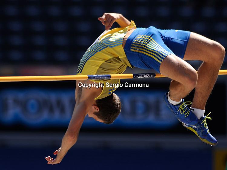 IAAF World Championships-Berlin 2009: High Jump, Linus Thornblad (SWE).