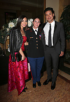 LOS ANGELES, CA - NOVEMBER 9: Courtney Laine Mazza, Megan Leavey, Mario Lopez, at the 2nd Annual Vanderpump Dog Foundation Gala at the Taglyan Cultural Complex in Los Angeles, California on November 9, 2017. Credit: November 9, 2017. Credit: Faye Sadou/MediaPunch