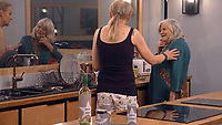 Ann Widdecombe and India Willoughby.<br /> Celebrity Big Brother 2018 - Day 2<br /> *Editorial Use Only*<br /> CAP/KFS<br /> Image supplied by Capital Pictures