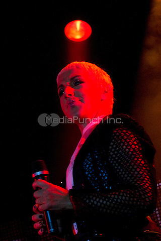 MADRID, SP - 14.09.2012: Ana Torroja in concert in Mostoles, Madrid. September 14, 2012. Credit: Alterphotos/Marta Gonzalez/NortPhoto/MediaPunch Inc. ***FOR USA ONLY***