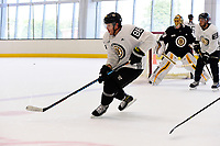 September 15, 2017: Boston Bruins right defenseman Kevan Miller (86) skates during the Boston Bruins training camp held at Warrior Ice Arena in Brighton, Massachusetts. Eric Canha/CSM