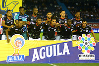 BARRANQUILLA-COLOMBIA, 29-10-2019: Jugadores de Cúcuta Deportivo, posan para una foto, antes de partido entre Atlético Junior y Cúcuta Deportivo, de la fecha 20 por la Liga Águila II 2019, jugado en el estadio Metropolitano Roberto Meléndez de la ciudad de Barranquilla. / Players of Cucuta Deportivo, pose for a photo, prior a match between Atletico Junior and Cucuta Deportivo, of the 20th date for the Aguila Leguaje I 2019 played at the Metropolitano Roberto Melendez Stadium in Barranquilla city. / Photo: VizzorImage / Alfonso Cervantes / Cont.