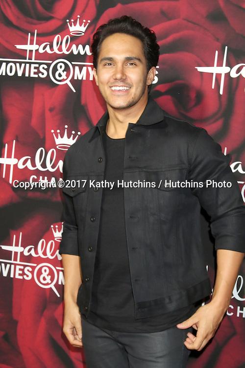 LOS ANGELES - JAN 14:  Carlos PenaVega at the Hallmark TCA Winter 2017 Party at Rose Parade Tournament House  on January 14, 2017 in Pasadena, CA