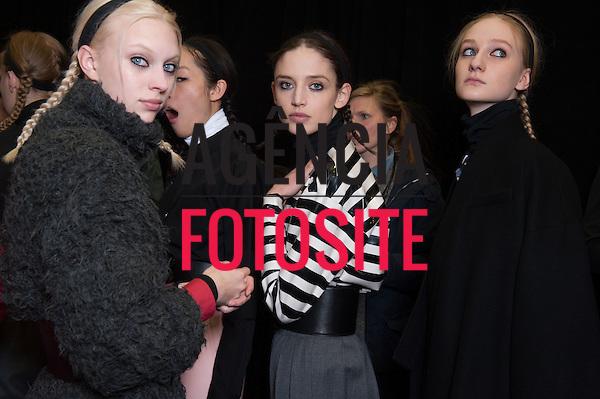 Nova Iorque, EUA &ndash; 02/2014 - Desfile de Marc by Marc Jacobs durante a Semana de moda de Nova Iorque - Inverno 2014. <br /> Foto: FOTOSITE