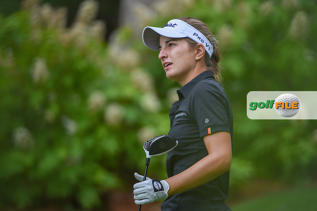Luna Sobron Galmes (ESP) watches her tee shot on 14 during round 1 of the U.S. Women's Open Championship, Shoal Creek Country Club, at Birmingham, Alabama, USA. 5/31/2018.<br /> Picture: Golffile | Ken Murray<br /> <br /> All photo usage must carry mandatory copyright credit (© Golffile | Ken Murray)