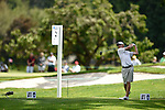 30 MAY 2016: Lee McCoy of Georgia competes in the Division I Men's Golf Championship is held at the Eugene Country Club in Eugene, OR. McCoy tied for sixth place with a score of +1. Stephen Nowland/NCAA Photos