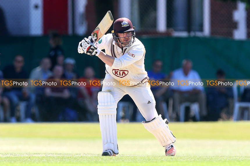 Mark Stoneman in batting action for Surrey during Surrey CCC vs Essex CCC, Specsavers County Championship Division 1 Cricket at Guildford CC, The Sports Ground on 10th June 2017