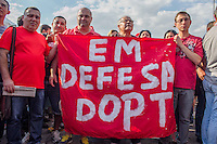 SÃO PAULO, SP, 16.08.2015 - PROTESTO-SP -  Ato em apoio ao PT em frente ao instituto Lula no bairro do Ipiranga na regiao sul da cidade de São Paulo na tarde deste domingo, 16.(Foto: Renato Mendes / Brazil Photo Press)