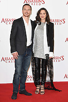 "Michael Fassbender and Marion Cotillard<br /> at the ""Assassin's Creed"" photocall in Claridges Hotel London.<br /> <br /> <br /> ©Ash Knotek  D3211  08/12/2016"