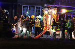Distraught onlookers at Last nights Fatal Fire at Termon Abbey, drogheda