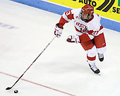 Garrett Noonan (BU - 13) - The Boston University Terriers defeated the visiting University of Toronto Varsity Blues 9-3 on Saturday, October 2, 2010, at Agganis Arena in Boston, MA.