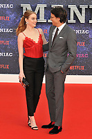Emma Stone and Cary Fukunaga at the &quot;Maniac&quot; UK TV premiere, BFI Southbank, Belvedere Road, London, England, UK, on Thursday 13 September 2018.<br /> CAP/CAN<br /> &copy;CAN/Capital Pictures