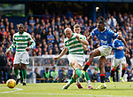 01.09.2019 Rangers v Celtic: Joe Aribo has a shot
