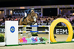 Max Kuhner of Austria riding PSG Future competes in the Hong Kong Jockey Club Trophy during the Longines Masters of Hong Kong at the Asia World Expo on 09 February 2018, in Hong Kong, Hong Kong. Photo by Ian Walton / Power Sport Images