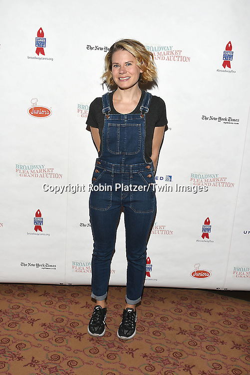 Celia Keenan-Bolger attends the Broadway Cares/Equity Fights Aids Flea Market and Grand Auction on September 25, 2016 at the Music Box Theatre and in Shubert Ally in New York, New York, USA. <br /> <br /> photo by Robin Platzer/Twin Images<br />  <br /> phone number 212-935-0770