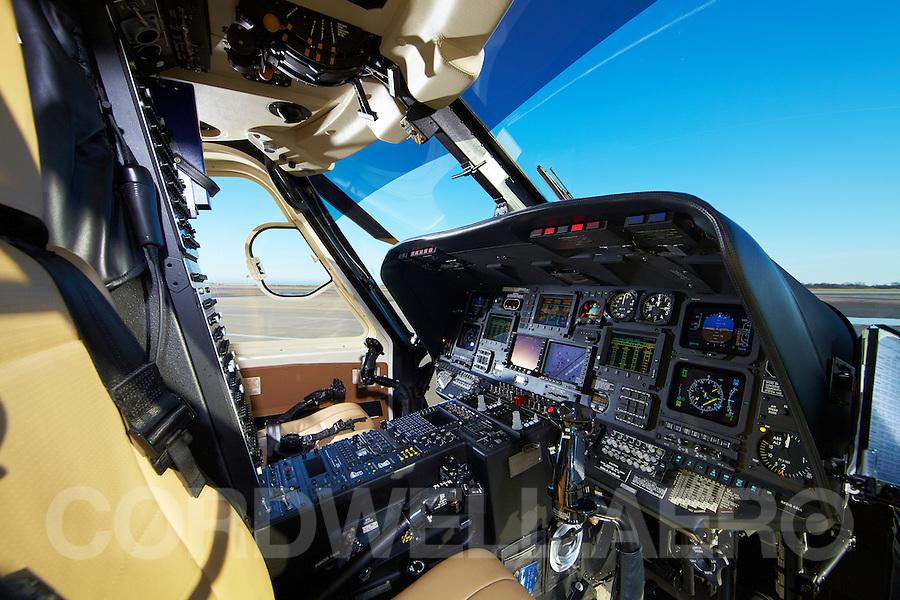 Sikorsky S76 Cockpit