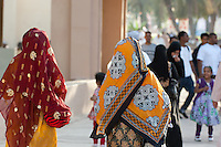 Omani colorful traditional dress, Oman