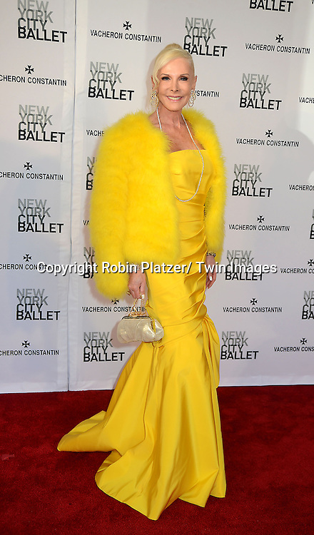 Michelle Herbert  attends the New York City Ballet Spring 2013  Gala on May 8, 2013 at The David H Koch Theater in LIncoln Center in New York City.