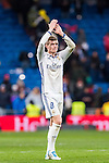 Toni Kroos of Real Madrid celebrates during their La Liga match between Real Madrid and Real Sociedad at the Santiago Bernabeu Stadium on 29 January 2017 in Madrid, Spain. Photo by Diego Gonzalez Souto / Power Sport Images