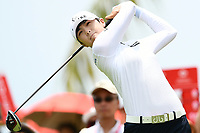 SINGAPORE - MARCH 03: Sung Hyun Park of South Korea on the 13th tee during the final round of the HSBC Women's World Championship 2019 at Sentosa Golf Club - Tanjong Course, Singapore on March 03, 2019.<br /> .<br /> .<br /> .<br /> (Photo by: Naratip Golf Srisupab/SEALs Sports Images)<br /> .<br /> Any image use must include a mandatory credit line adjacent to the content which should read: Naratip Golf Srisupab/SEALs Sports Images