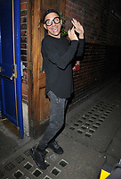 """Bianca Del Rio (Roy Haylock) at the """"Everybody's Talking About Jamie"""" theatre cast stage door departures, Apollo Theatre, Shaftesbury Avenue, London, England, UK, on Friday 10th May 2019.<br /> CAP/CAN<br /> ©CAN/Capital Pictures"""