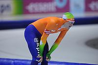 SCHAATSEN: HEERENVEEN: Thialf, Essent ISU World Cup, 02-03-2012, 1500m Division B, Lars Elgersma (NED), ©foto: Martin de Jong