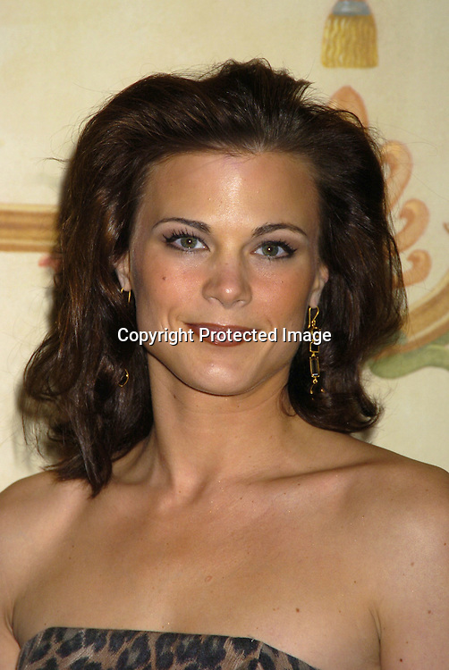 Gina Tognoni of Guiding Light..at The 57th Annual  Writers Guild Awards on February 19, 2005 at The Pierre Hotel in New York City. Claire Labine got ..an award and  Guiding Light won for Best Soap Opera. ..Photo by Robin Platzer, Twin Images.