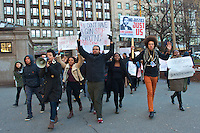 Black Lives Matter Emerson College Walkout  12.4.14