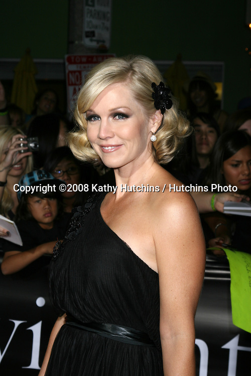 """Jennie Garth arriving to the World Premiere of """"Twilight"""" at Mann's Village Theater in Westwood, CA.November 17, 2008.©2008 Kathy Hutchins / Hutchins Photo...."""