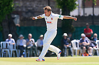 Neil Wagner of Essex celebrates taking the wicket of Mark Stoneman during Surrey CCC vs Essex CCC, Specsavers County Championship Division 1 Cricket at Guildford CC, The Sports Ground on 10th June 2017