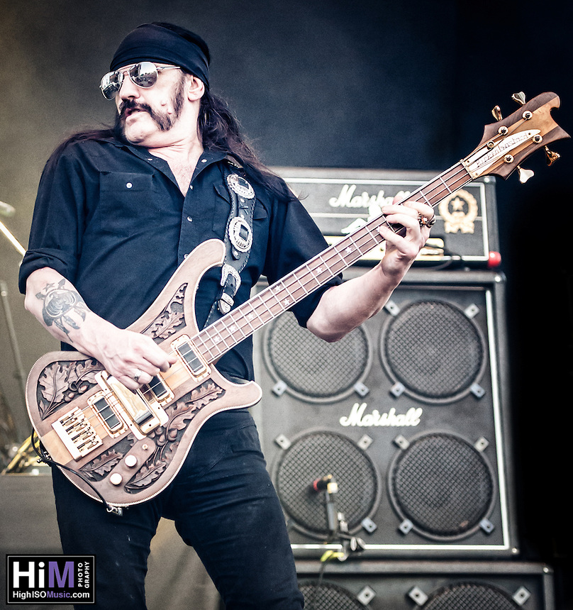 Motorhead performing at Heavy MTL 2011 in Montreal, QC.