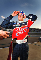 May 2, 2008; Richmond, VA, USA; NASCAR Sprint Cup Series driver David Ragan during qualifying for the Dan Lowry 400 at the Richmond International Raceway. Mandatory Credit: Mark J. Rebilas-US PRESSWIRE