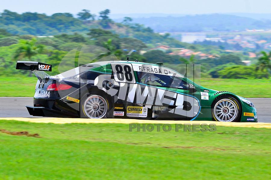GOIÂNIA,GO.05.11.2016 - STOCK CAR-GO - Felipe Fraga piloto da Stock Car durante classificatório para etapa Goiânia no autódromo internacional Ayrton Senna, na cidade de Goiânia neste sábado (05) (Foto: Marcos Souza/Brazil Photo Press)