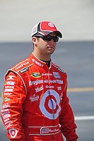 May 30, 2008; Dover, DE, USA; Nascar Sprint Cup Series driver Reed Sorenson during qualifying for the Best Buy 400 at the Dover International Speedway. Mandatory Credit: Mark J. Rebilas-