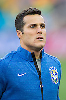 Brazil goalkeeper Julio Cesar