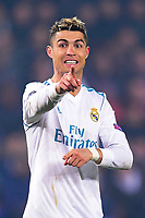 Cristiano Ronaldo (Real Madrid) <br /> Parigi 07-03-2018 Allianz Arena <br /> Paris Saint Germain - Real Madrid Quarti di finale ritorno Champions League 2017/2018<br /> Foto Panoramic / Insidefoto