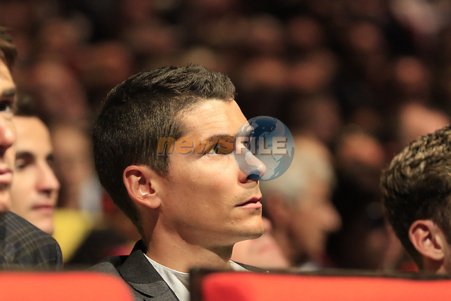 Warren Barguil (FRA) at the Tour de France 2020 route presentation held in the Palais des Congrès de Paris (Porte Maillot), Paris, France. 15th October 2019.<br /> Picture: Eoin Clarke | Cyclefile<br /> <br /> All photos usage must carry mandatory copyright credit (© Cyclefile | Eoin Clarke)