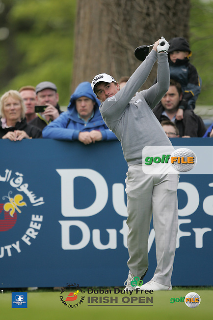 Paul Dunne (IRL) during Wednesday's Pro-Am ahead of the 2016 Dubai Duty Free Irish Open Hosted by The Rory Foundation which is played at the K Club Golf Resort, Straffan, Co. Kildare, Ireland. 18/05/2016. Picture Golffile | TJ Caffrey.<br /> <br /> All photo usage must display a mandatory copyright credit as: &copy; Golffile | David Lloyd.