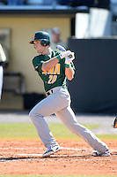Siena Saints infielder Alex Tuccio (20) during a game against the Central Florida Knights at Jay Bergman Field on February 16, 2014 in Orlando, Florida.  UCF defeated Siena 9-6.  (Mike Janes/Four Seam Images)