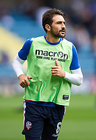 Bolton Wanderers' Jem Karacan during the pre-match warm-up <br /> <br /> Photographer Ashley Western/CameraSport<br /> <br /> The EFL Sky Bet Championship - Millwall v Bolton Wanderers - Saturday August 12th 2017 - The Den - London<br /> <br /> World Copyright &not;&copy; 2017 CameraSport. All rights reserved. 43 Linden Ave. Countesthorpe. Leicester. England. LE8 5PG - Tel: +44 (0) 116 277 4147 - admin@camerasport.com - www.camerasport.com