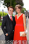 Patrick Gilbert and Rachel O'Mahony enjoying the Causeway Comprehensive Debs on Thursday at the Brandon Hotel