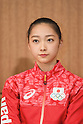 Airi Hatakeyama (JPN), <br /> JULY 26, 2016 - Rhythmic Gymnastics : <br /> Japanese national Rhythmic Gymnastics team attend a press conference <br /> for the Rio 2016 Olympic Games in Tokyo, Japan. <br /> (Photo by AFLO SPORT)